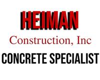 Heiman Construction Concrete Specialist
